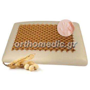 Ανατομικό Μαξιλάρι Massage Bio Soya