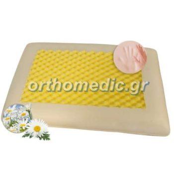 Μαξιλάρι Memory Foam Χαμομήλι Massage