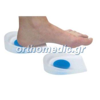 Υποπτέρνια Σιλικόνης Blue Dot Heel