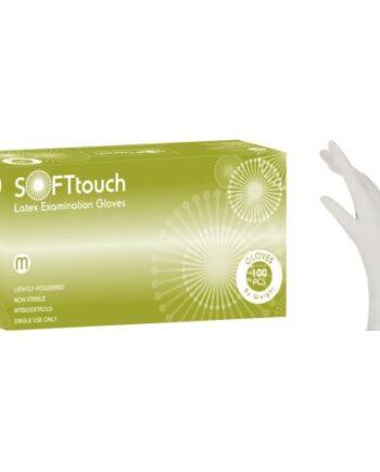 Γάντια Latex Soft Touch με Πούδρα
