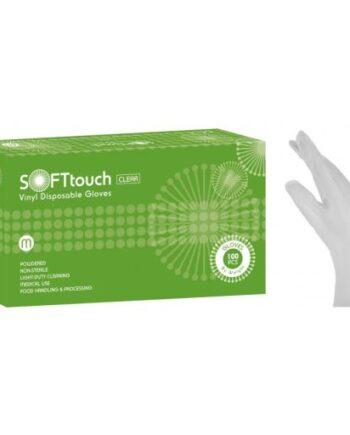 Γάντια Βινυλίου Soft Touch με Πούδρα