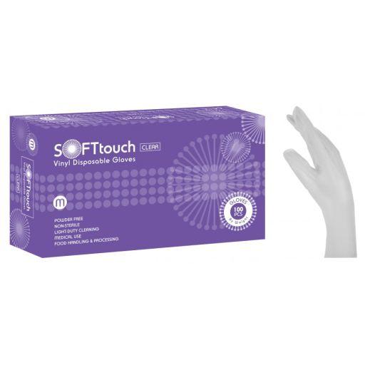 Γάντια Βινυλίου Χωρίς Πούδρα Soft Touch