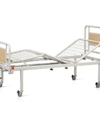 Πολύσπαστο Νοσοκομειακό Κρεβάτι με Τροχούς