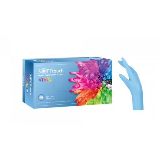Γάντια Νιτριλίου Γαλάζιο