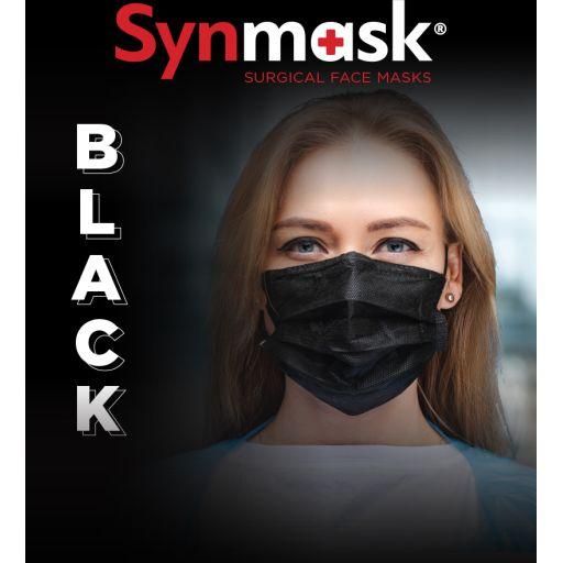 Μαύρες Μάσκες Χειρουργικές Medical II